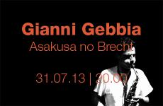 Gianni Gebbia – Asakusa No Brecht