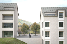 Residential complex Vipiteno/Sterzing – 2nd Prize
