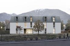 Residential complex Kreuzbichl/Laces – 1st Prize