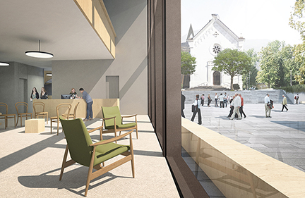 New urban center Leifers/Laives